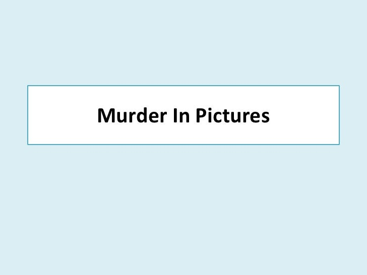 Murder In Pictures