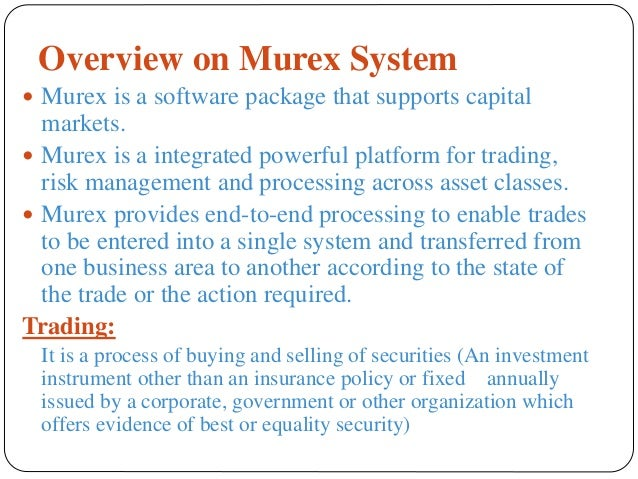 Fx options murex