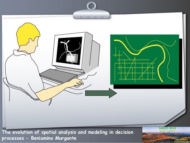 The evolution of spatial analysis and modeling in decision processes Slide 3