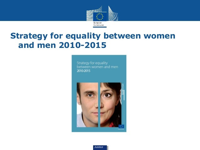 Strategy for equality between women  and men 2010-2015