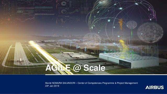 Muriel NOMURA SALVADORI – Center of Competences Programme & Project Management 24th Jan 2019 AGILE @ Scale