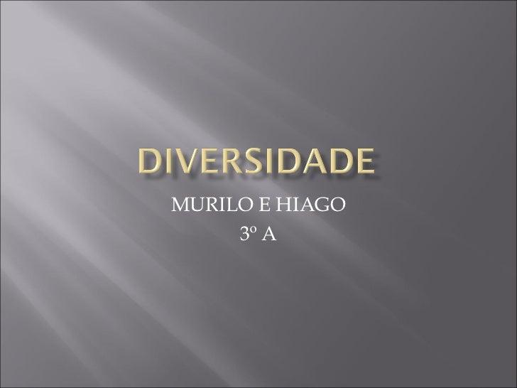 MURILO E HIAGO     3º A