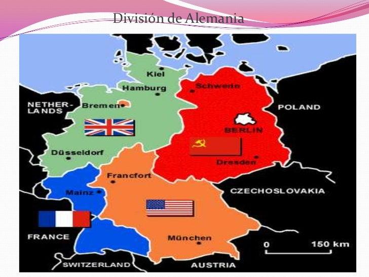 Division de alemania