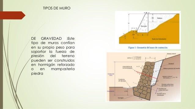 Muros de contenci n en carreteras - Tipos de muros de piedra ...