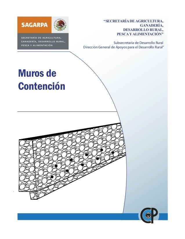 """""""SECRETARÍA DE AGRICULTURA, GANADERÍA, DESARROLLO RURAL, PESCA Y ALIMENTACIÓN"""" Subsecretaría de Desarrollo Rural Dirección..."""