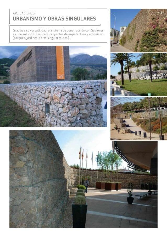 Muros de gavion