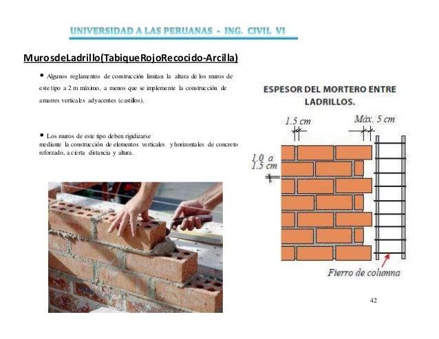 Muros trabajo 1 - Tipos de muros ...