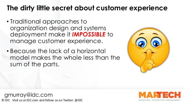 CX Appeal: Technology to Keep Your Customers Coming Back for More By Gerry Murray Slide 3