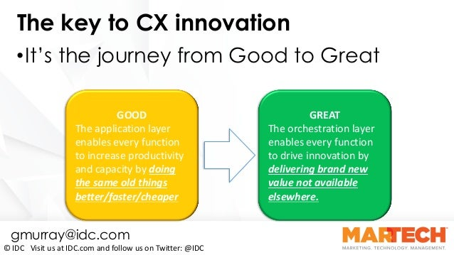 CX Appeal: Technology to Keep Your Customers Coming Back for More By Gerry Murray Slide 35