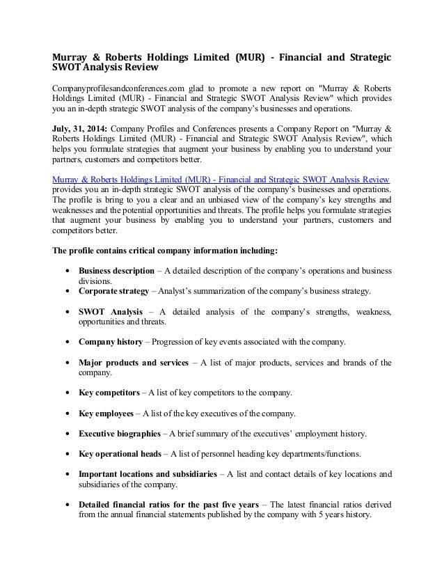 Giordano international ltd swot analysis bac