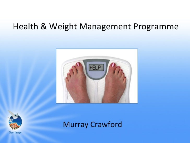 Health & Weight Management Programme          Murray Crawford