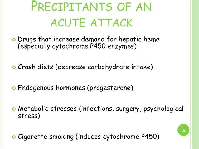 acute intermittent porphyria carb diet