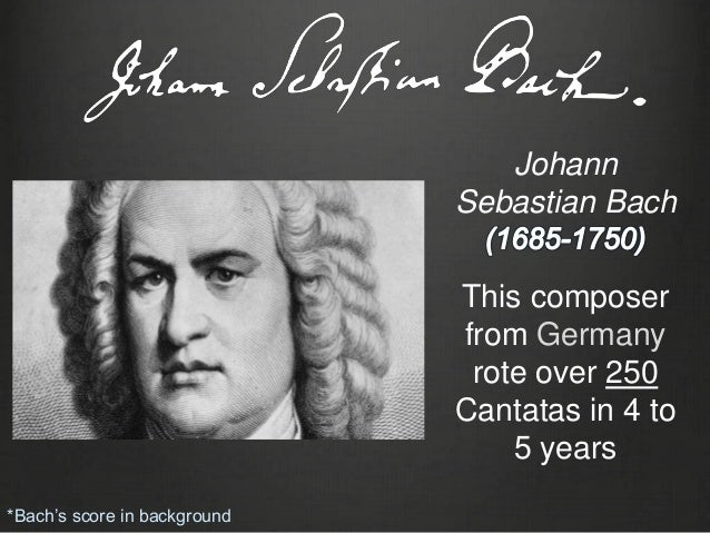a comparison of works between johann sebastian bach and george friderick handel Biography and readings for johann sebastian bach, george frederick handel & henry purcell, according to the episcopal church in 1708, shortly after marrying his cousin, maria barbara bach, he became court organist to the duke of weimar, where he wrote his principal compositions for the organ.