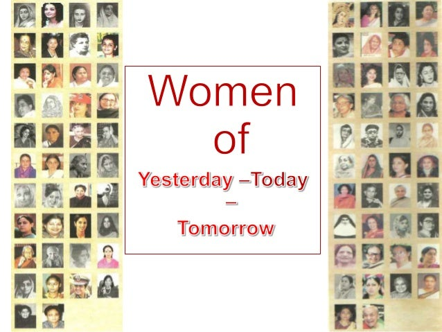 a comparison of todays woman and yesterday Below is an essay on women of yesterday, today and tomorrow (in phil) from  anti essays, your source for research papers, essays, and.