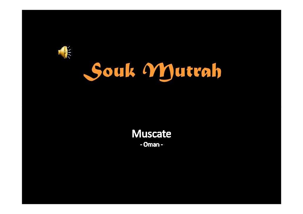 Souk Mutrah