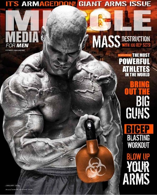 Muscle media magazine january 2016 edition armageddon.