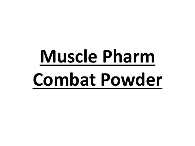Muscle Pharm Combat Powder