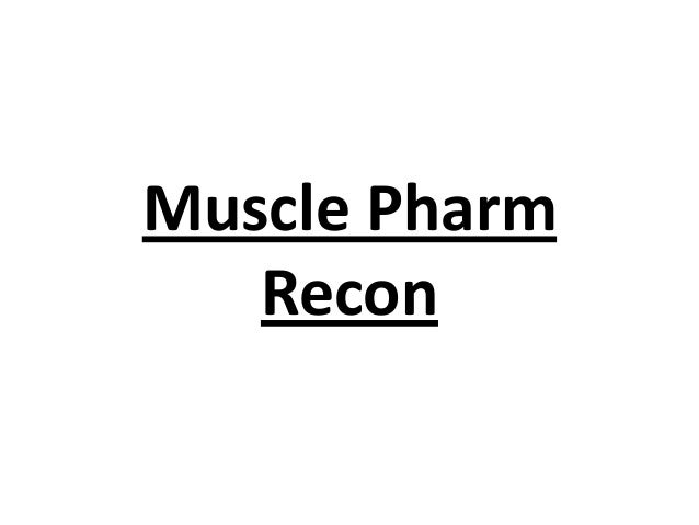 Muscle Pharm Recon