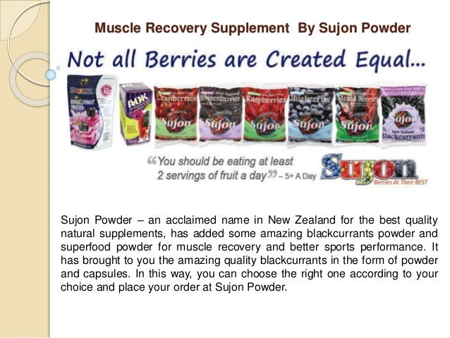 Muscle Recovery Supplement By Sujon Powder Sujon Powder – an acclaimed name in New Zealand for the best quality natural su...