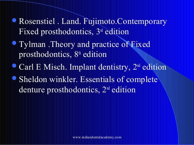 contemporary implant dentistry 4th edition pdf