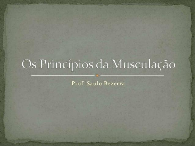 Prof. Saulo Bezerra