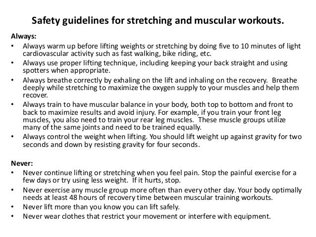 muscular and flexibility project Flexibility refers to the total range of motion of a joint or group of joints  7)  increase in the level of certain skills and muscular efficiency (beaulieu, 1980.
