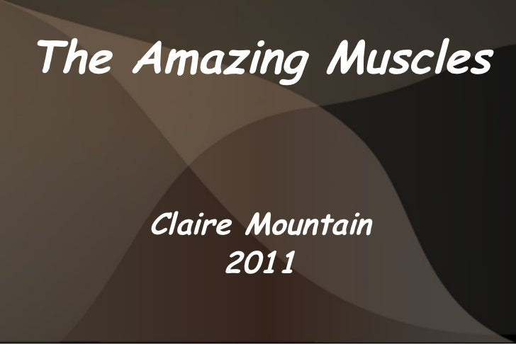 The Amazing Muscles Claire Mountain 2011