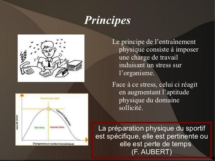 Approche de la préparation physique Slide 2