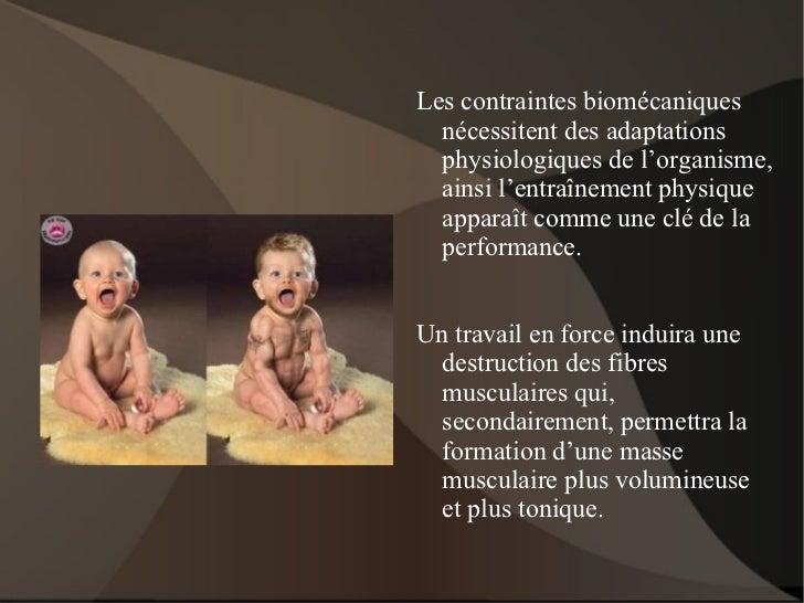 Approche de la préparation physique Slide 3