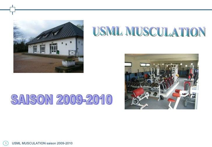 USML MUSCULATION SAISON 2009-2010