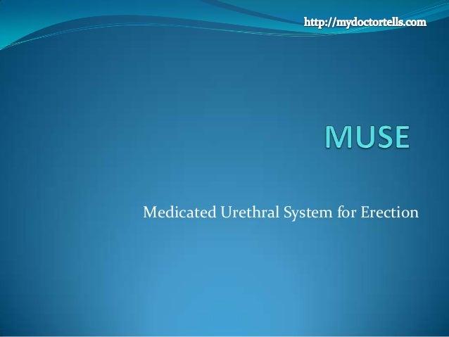 Medicated Urethral System for Erection