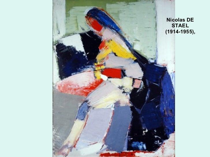 Nicolas DE STAEL  ( 1914-1955 ) ,