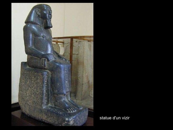 statue d'un vizir