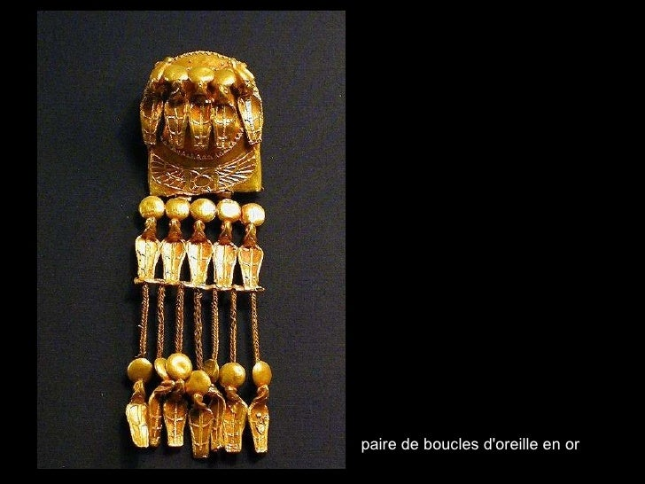 paire de boucles d'oreille en or