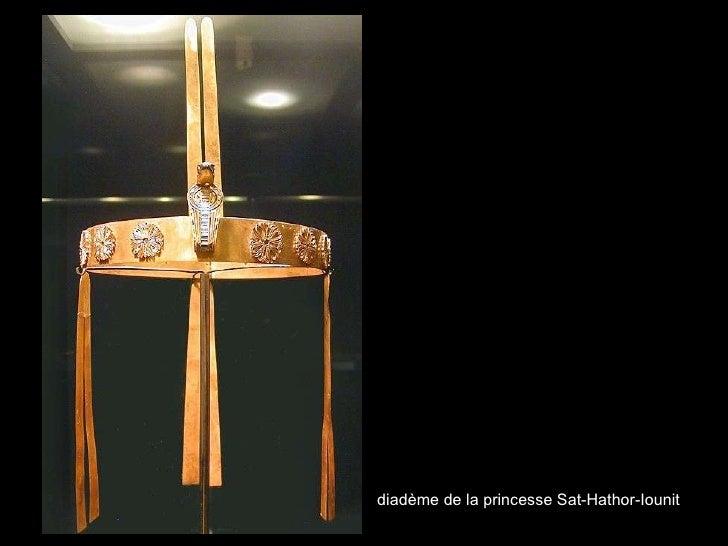 diadème de la princesse Sat-Hathor - Iounit