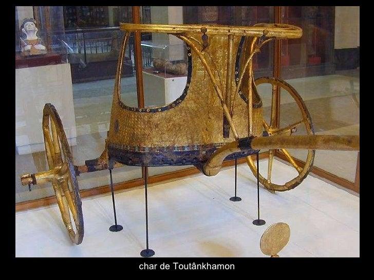 char de Toutânkhamon