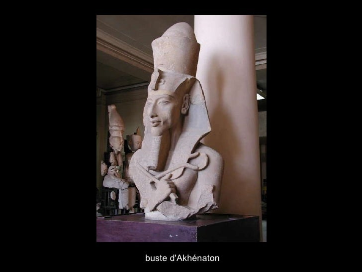 buste d'Akhénaton