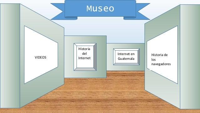 Museo Historia del Internet Historia de los navegadores VIDEOS Internet en Guatemala
