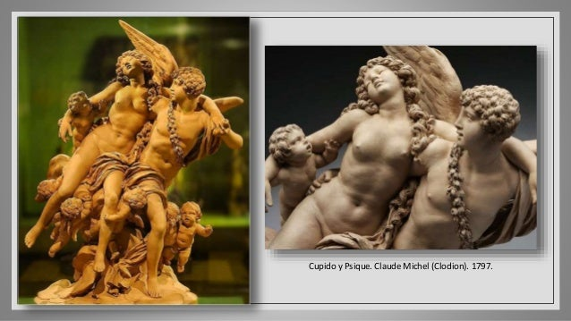 Cupido encendiendo la antorcha de Himeneo. George Rennie. 1831.