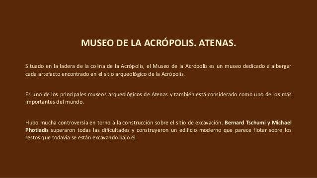 Museo de la Acrópolis, Atenas Slide 3
