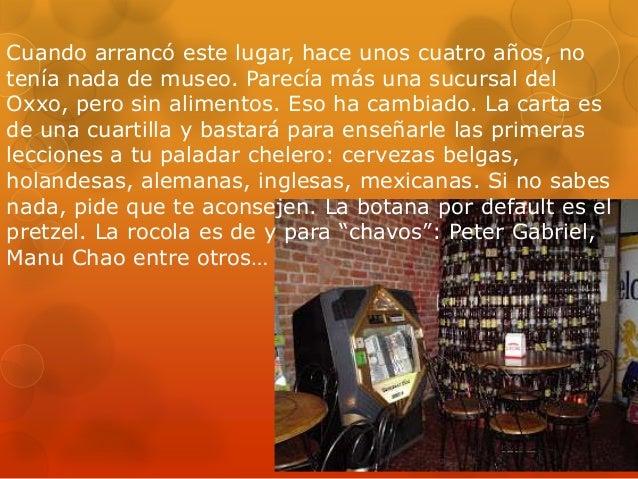 Museo de la cerveza Slide 2
