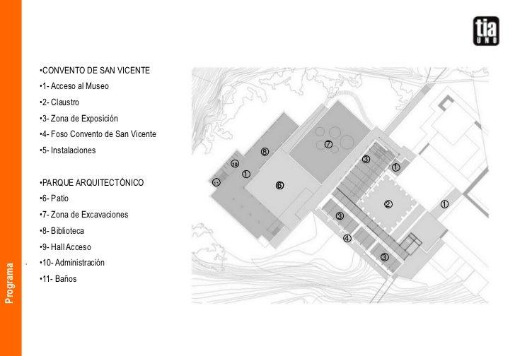 Museo de la ciudad parque arqueol gico cerro de san for Programa arquitectonico biblioteca