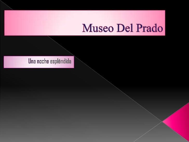  Una tarde fría de enero, me dirigía al  Museo del Prado, me habían hablado  de que algo raro estaba sucediendo  allí… te...