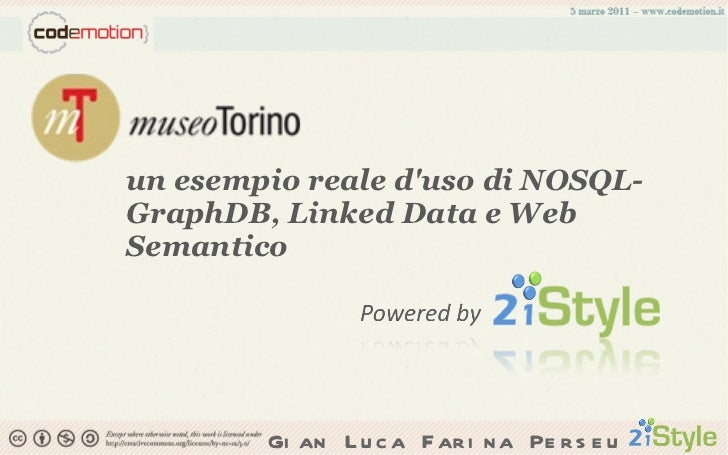 un esempio reale d'uso di NOSQL-GraphDB, Linked Data e Web Semantico