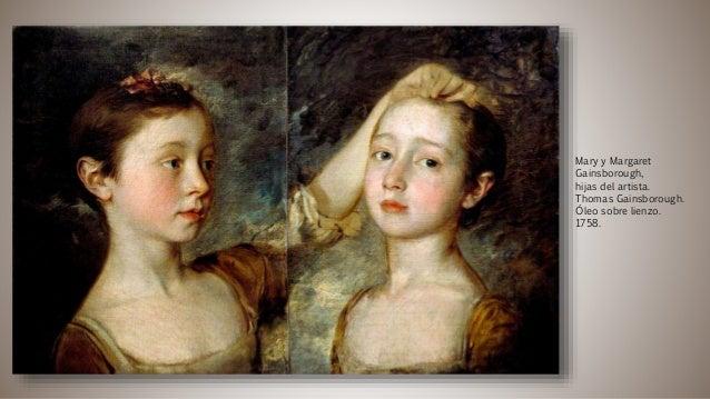 Mary y Margaret Gainsborough, hijas del artista. Thomas Gainsborough. Óleo sobre lienzo. 1758.
