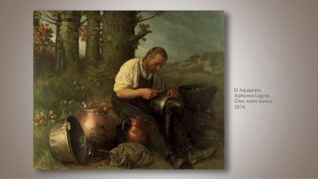 El hojalatero. Alphonse Legros. Óleo sobre lienzo. 1874.