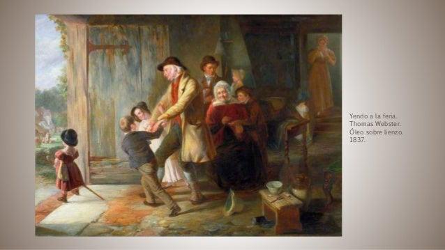 Yendo a la feria. Thomas Webster. Óleo sobre lienzo. 1837.