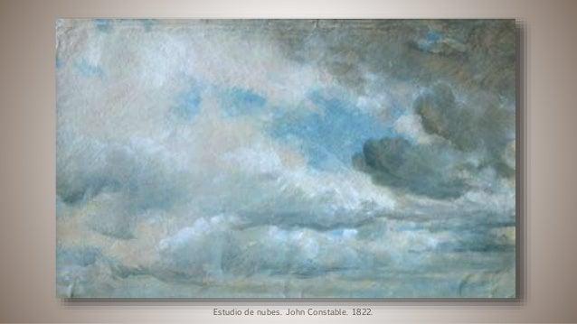 Estudio de nubes. John Constable. 1822.
