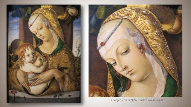 La Virgen con el Niño. Carlo Crivelli. 1480.