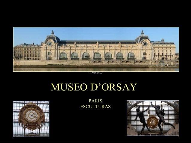 PARIS  MUSEO D'ORSAY PARIS ESCULTURAS  1
